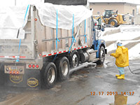 December 2013 - Trucks are washed