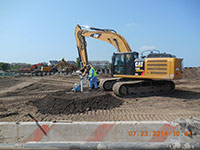 July 2014 - Placing backfill